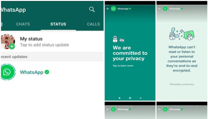 WhatsApp sets WhatsApp Status to explain its privacy features