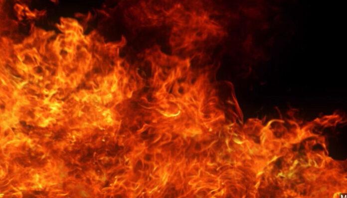 Fire breaks out in Delh